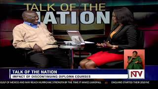 TALK OF THE NATION: Impact of Discontinuing Diploma courses