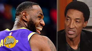 LeBron James is in the prime of his career right now - Scottie Pippen | The Jump