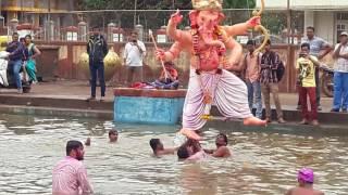 Belgaum ganesh visarjan gandhi nagar cha raja 2016