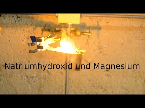 Natrium herstellen I Magnesium-Methode