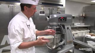 Cooking and Piping Choux Paste