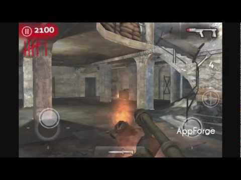 Call of Duty: WaW: Zombies iPhone / iPod Touch Gameplay - Nacht der Untoten (Part 1)