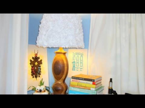 Structural Blossom Lamp. DIY Lighting. Decor it Yourself