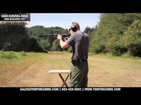 Aero Survival Rifle - 9mm Magazine Tests
