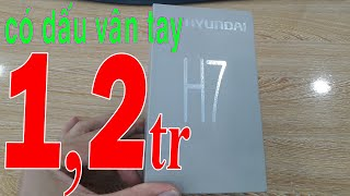 Open the cheap phone box with fingerprint Hyundai H7