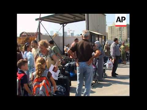 Germans, Americans, Canadians prepare to leave the country