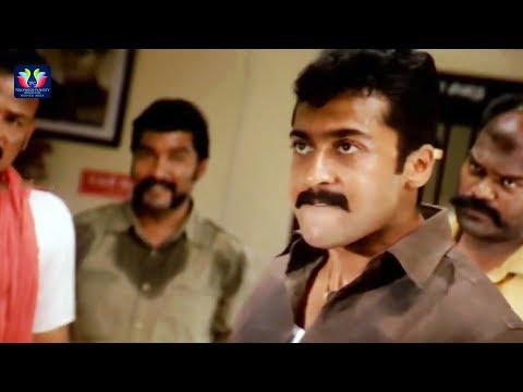 Suriya Warning To Kalabhavan Mani Scene || Latest Telugu Movie Scenes || TFC Movies Adda