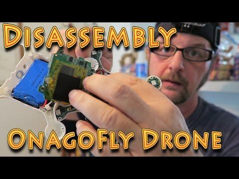 Repair: OnagoFly The Smart Nano Drone DisAssembled!!! (09.05.2016)