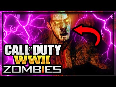 Call of Duty WW2 Zombies ~ Official Gameplay Trailer Reveal Date Announced (COD WORLD WAR 2 ZOMBIES)