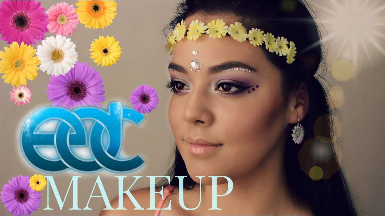 Rave Makeup Tutorial Edc