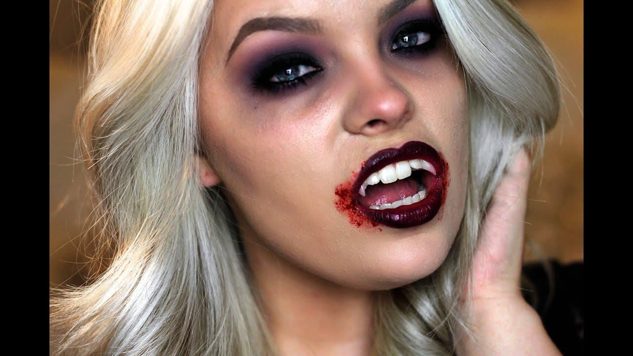 vampire makeup tutorial youtube. Black Bedroom Furniture Sets. Home Design Ideas