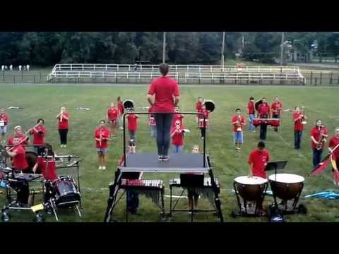 Pompton Lakes High School Marching Band: 2014 Band Camp Performance