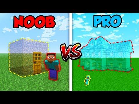 Minecraft NOOB vs. PRO: INVISIBLE HOUSE!   AVM Shorts Animation