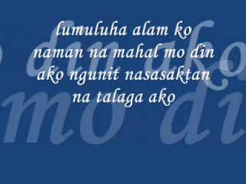 Ako Na Lang Ang Lalayo - Spyker One And Curse One Lyrics video