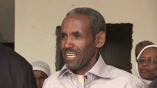 Memeher Girma Wondimu Present Donation to Yewedekuten Ansu Nedy and Merga Mehber PART TWO