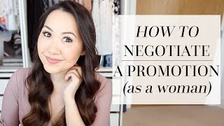 HOW TO NEGOTIATE A PAYRISE OR PROMOTION (AS A WOMAN!)