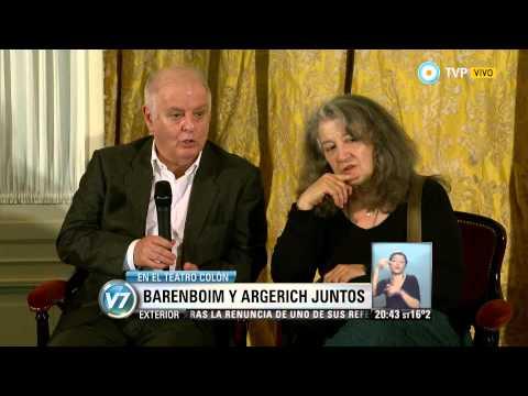 Visión 7 - Barenboim y Argerich juntos