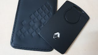 Genuine leather keyfob case - Renault Captur & Nissan Kicks