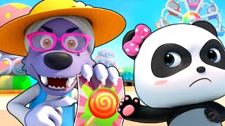 Strangers, Go Away! | Play Safe Song | Nursery Rhymes | Kids Songs | Baby Songs | BabyBus
