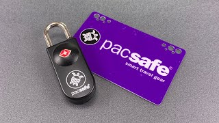 [929] PacSafe Keycard Luggage Lock Picked FAST!