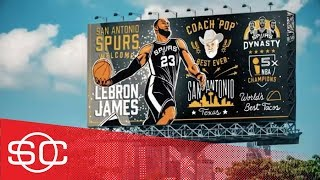 What if all 30 NBA teams made their pitch to LeBron James via billboard?   SportsCenter