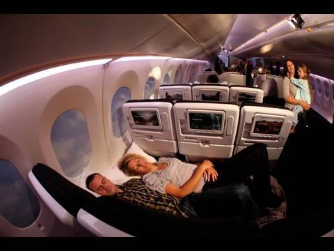 Game-changing new Economy 'Skycouch' seating at Air New Zealand