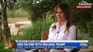 Melania Trump Interview Slowed Down