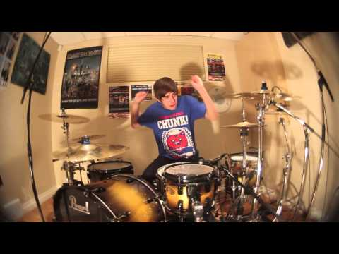 Chris Dimas - Blow Me Away - Breaking Benjamin (drum Cover) video