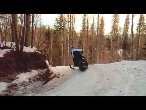 Whitecourt Alberta and the World Snowmobile Invasion