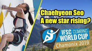 IFSC Climbing World Cup Report Chamonix - Women