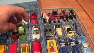 Vintage Tomica Toy Car Collection