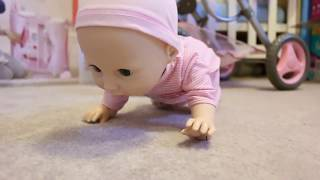 Baby Doll Nursery Toys - Baby Born stroller Baby Annabell Wardrobe bedroom feeding time PlayToys