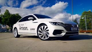 Новый VW Arteon R line