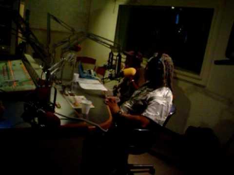 Bernie Worrell at WBAI with Blackbyrd McKnight