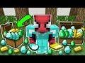 Zengin Örümcek Adam'ın Hazinesi - Minecraft Zengin vs Fakir Örümcek Adam