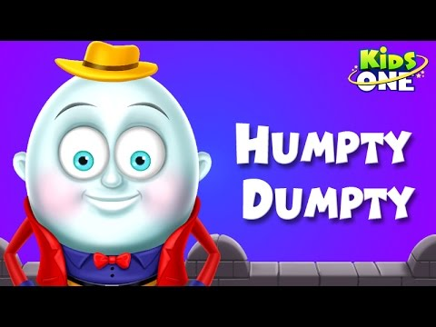 Humpty Dumpty ||  Nursery Rhymes ||  English Animated Rhymes video