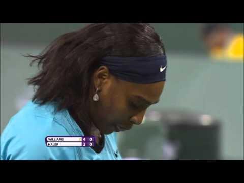 BNP Paribas Open: Highlights, Serena Williams vs. Simona Halep