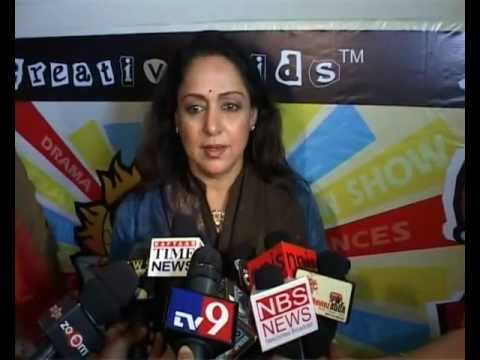 Hema Malini says children should develop a hobby during summer vacations