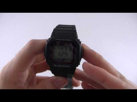 Casio G-Shock GW-M5600-1ER Watch Review - Watch Shop UK