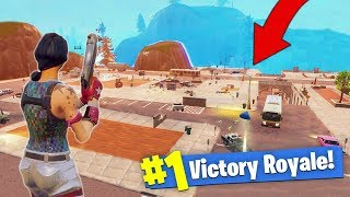 What Happens When You Destroy EVERY Building In Tilted Towers! [Fortnite - Battle Royale]