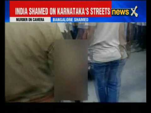 Caught on camera: Man thrashed, stabbed to death in Karnataka