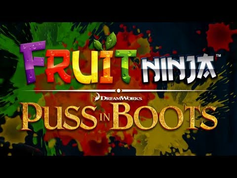 Thumb Fruit Ninja: Puss in Boots iPhone/iPad Gameplay (Bandito Mode)