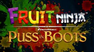 Fruit Ninja: Puss in Boots Gameplay  para el iPhone, iPad  (Bandito Mode)