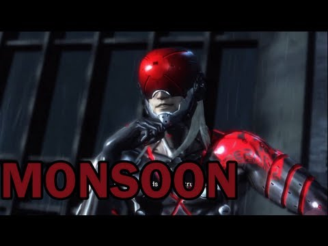 Metal Gear Rising: Revengeance - Monsoon Fight video