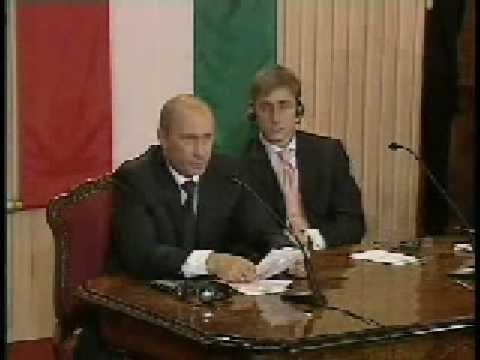 В.Путин.Совместная пресс-конференция.28.02.06.Part 2