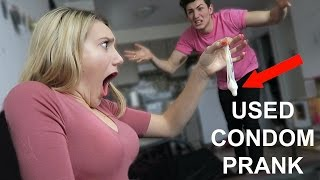 USED CONDOM CHEATING PRANK!
