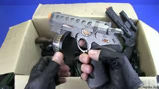 Gun toys - Box of Toys ! Military&Police Guns Toy - Video for kids