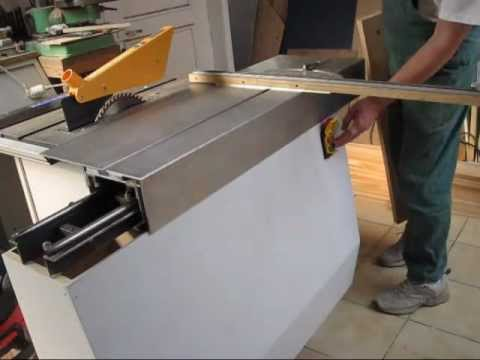 Diy Sliding Table Panel Saw Youtube