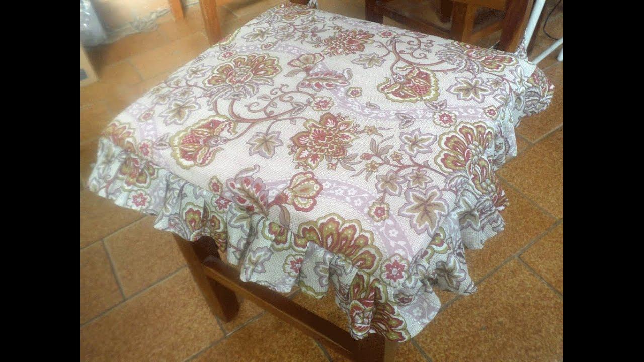 Capa de Almofada Para Cadeira com Babado   #412816 1024x768