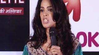 Mallika Sherawat shouts at a journalist (INTERVIEW)